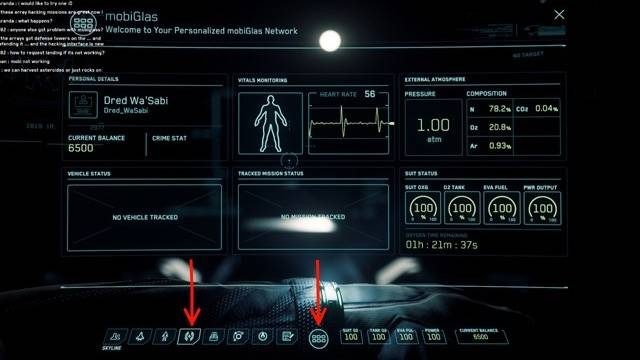 Star Citizen - plot a course