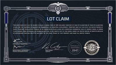 star citizen land claim license