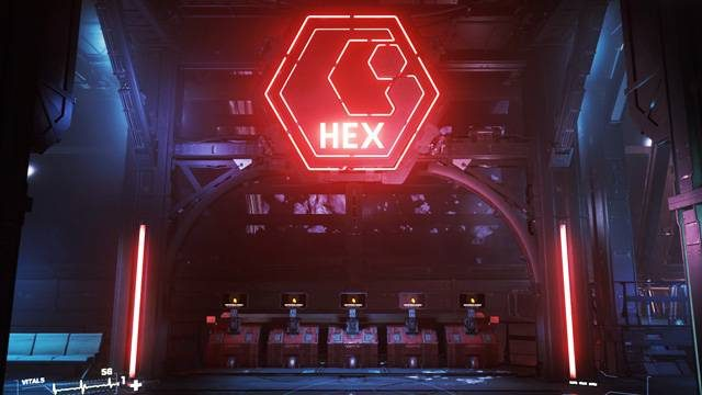 Ship retrieval consoles at Grim Hex