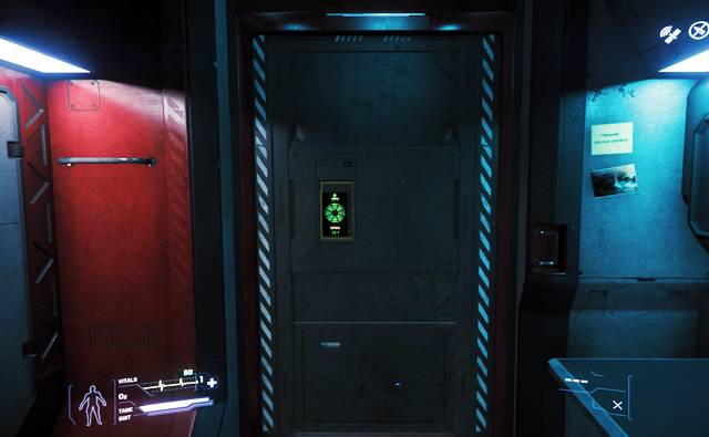 Inside view of a hab unit at Grim Hex