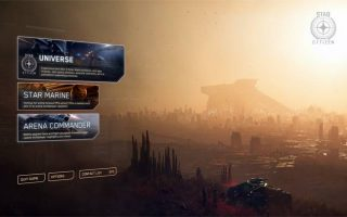 the star citizen the selection screen