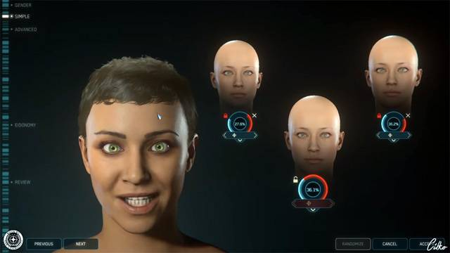 FOIP character customisation